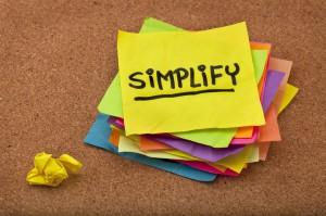 Simplify post it note