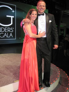 David and Jen - Award Gala