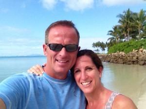David and Jen - Paradise