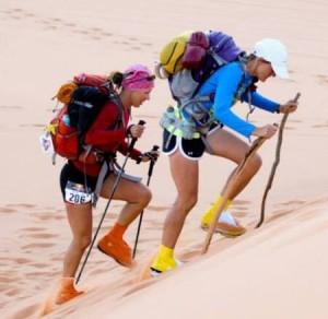 Crystal Flaman - G2G ultra 273km sand dunes